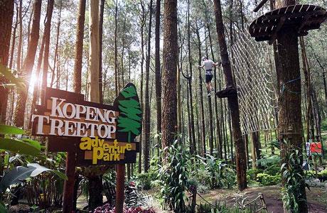 Taman Wisata Kopeng Magelang Destinasi Liburan Dengan Fasilitas