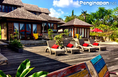 The Palms Ceningan Hotel Restaurant