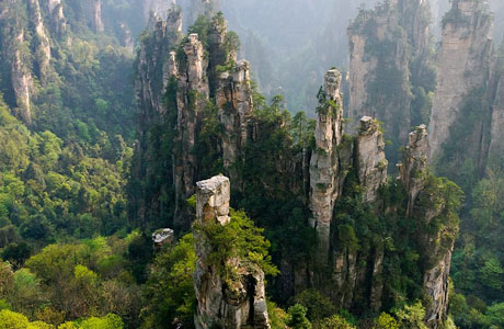 YuanJiaJie Mountains - id.pinterest.com