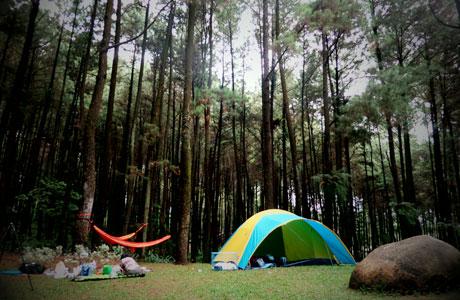 Camping di Gunung Pancar - parah1ta.jalanjalanyuk.com