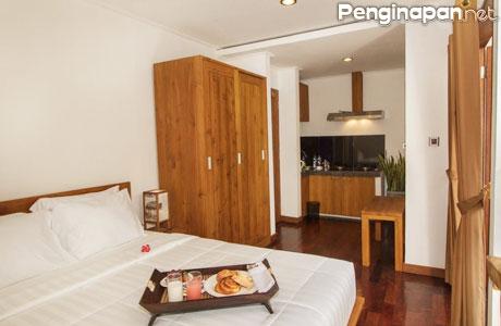Kamar yang Nyaman di Delu Villa & Suite - (Sumber: pegipegi.com)