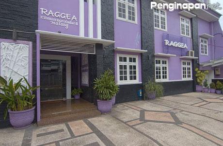 Grand Raggea Hotel Tampak Luar