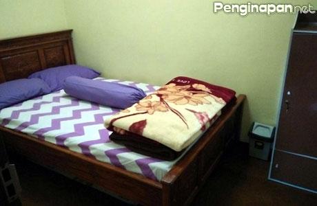 Salah satu kamar di Homestay Maria Ngadas