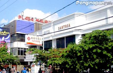 Hotel Santosa, Penginapan, Akomodasi, Murah, Tengah Kota, Malang, Jawa Timur, tarif, Fasilitas, Reservasi, Informasi, Tipe Kamar, Alamat, Lokasi, Telepon, Wisata, Belanja, dekat, alun-alun
