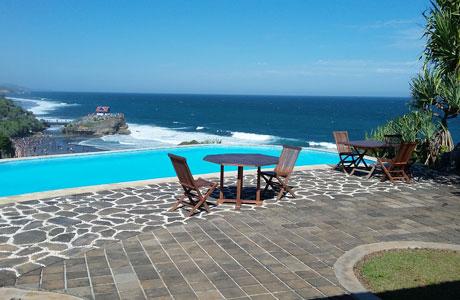 Inessya Resort - @Potret Pantai Ngobaran