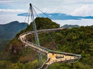Jembatan Langit Langkawi - wow.tribunnews.com
