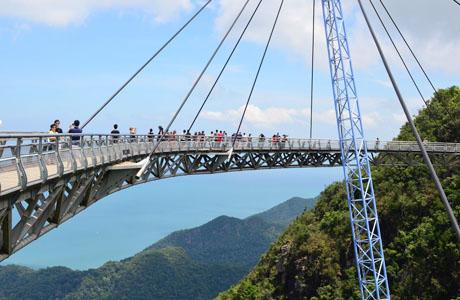 Jembatan Langit Langkawi - www.boombastis.com