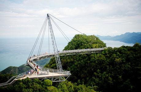Jembatan Langit Langkawi - malaysia.panduanwisata.id