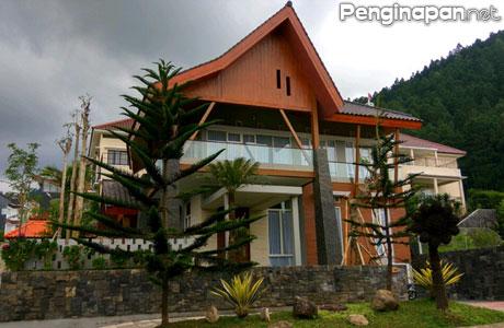 Bangunan megah King Villa Batu