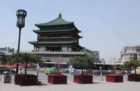 Kota Xian China - travel.kompas.com