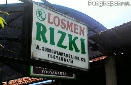 Losmen Rizki Yogyakarta