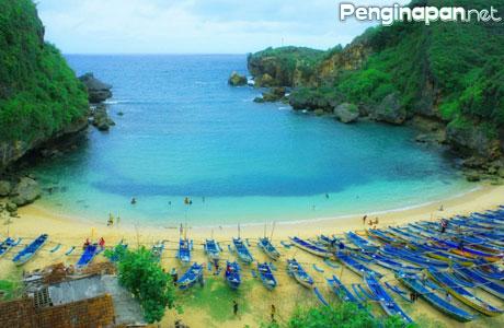 Pantai Baron - wisataterbaru.com