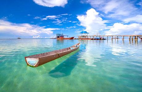 Pesona Pantai Trikora, Batam (sumber: landscaper.id)