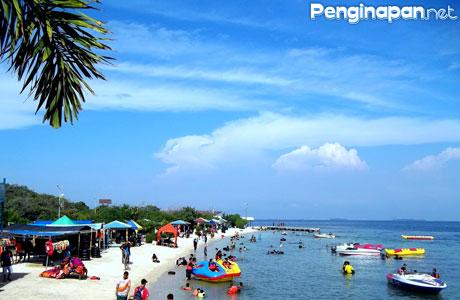 Pantai Untung Jawa - www.penawisata.com