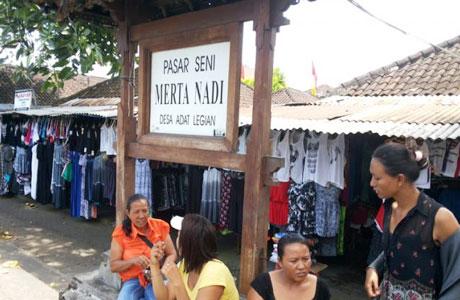 Pasar Seni Merta Nadi Legian - bali.tribunnews.com