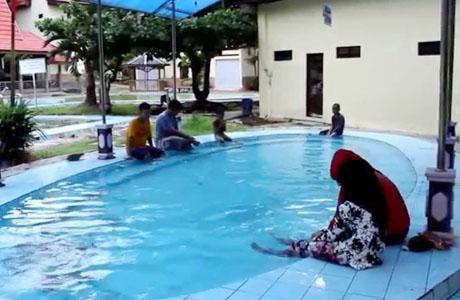 Pemandian Air Panas Tanuhi - (Youtube: Luthfy Al Razieb)