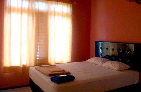 Kamar di Hotel Wibisono I