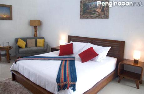 Fasilitas kamar di Puncak Tidar Guest House
