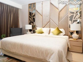 Kamar tidur Senyum World Hotel Batu