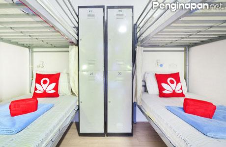 Penginapan Murah Sekelas Hostel Yang Berlokasi Dekat Dengan Stasiun MRT Banyak Diburu Wisatawan Atau Traveler Ingin Bepergian Ke Singapura