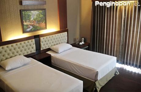 Twin Bed yang Tersedia di Spencer Green Hotel