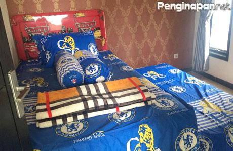 Kamar untuk anak-anak dengan ranjang tambahan