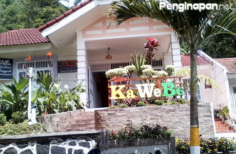 Villa Kawebe Tampak Luar