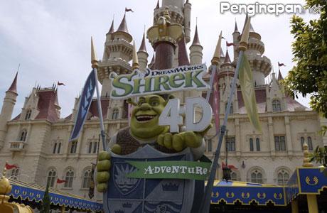 Universal Studios Singapore Wahana Shrek 4D - specialjhe.blogspot.co.id