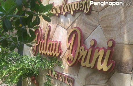 Wisma Kampung Pulau Drini - wonderfulisland.id