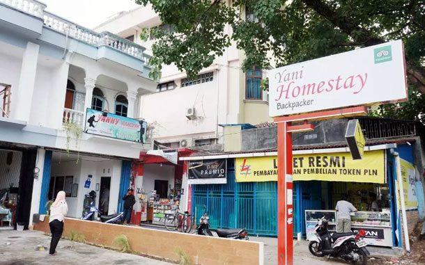 Halaman Yani Homestay Padang (sumber: booking.com)