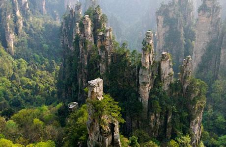 YuanJiaJie Mountains - id.pinterest.com