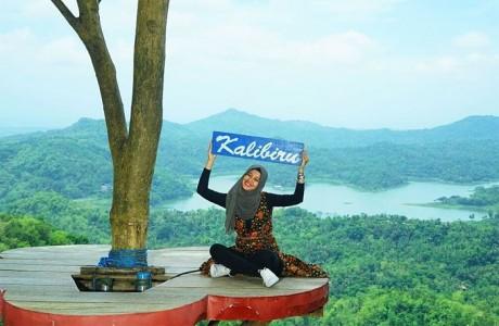 Wisata alam Kalibiru di kabupaten Kulonprogo DIY