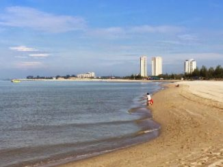 Pantai Klebang Melaka (twitter: @tourismmalaysia)