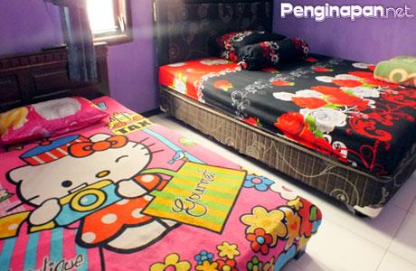 Rania Homestay kamaran, kamar twin bed
